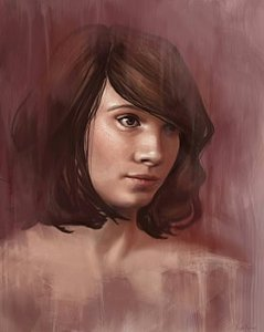 Shy - A Female Portrait - Angela Murdock