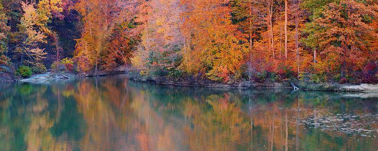 Fine Art Print - Panaoramic Autumn Landscape
