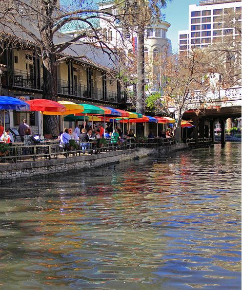 San Antonio Riverwalk Photograph by Angela Murdock