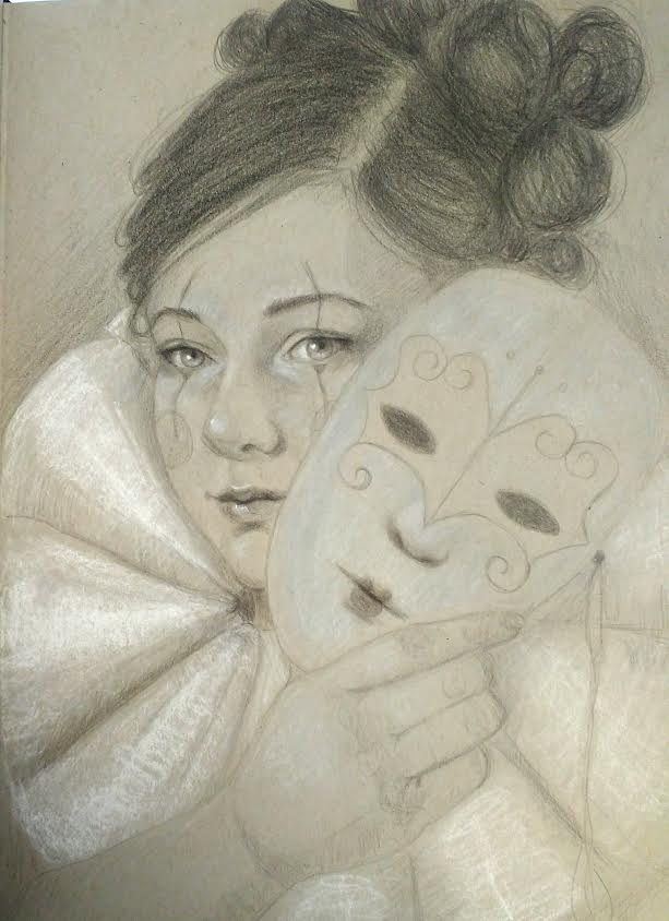 masks - art by angela murdock