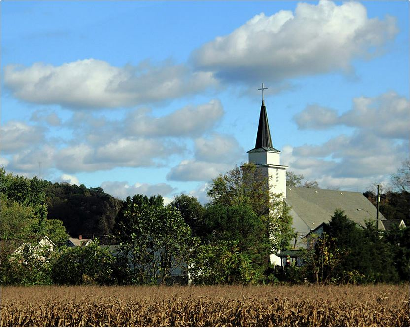 Countryside Church: Photography Prints by Angela Murdock