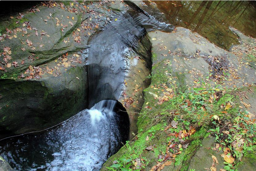 Devil's Bathtub in Hocking Hills: Fine Art Photography by Angela Murdock