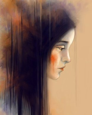 Autumn Portrait: Art By Angela Murdock